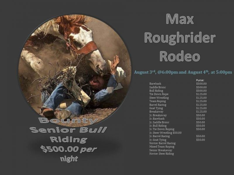 Max Rough Rider Rodeo